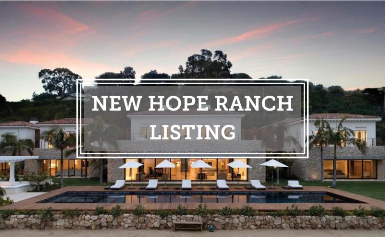 New Hope Ranch Offering 4160 La Ladera Road