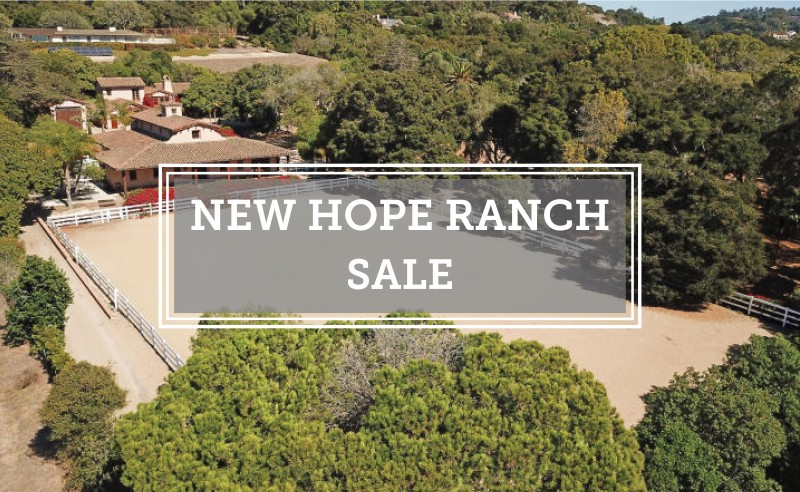 New Hope Ranch Sale Bendita