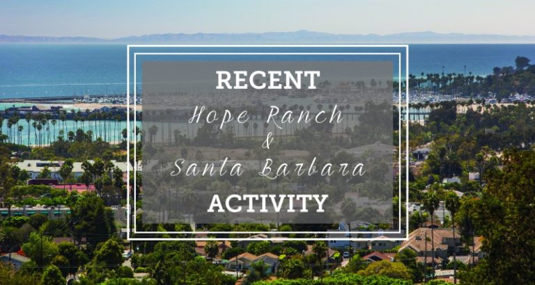 Montecito & Hope Ranch Quarterly Market Update January 2017