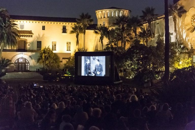 Free Summer Cinema Returns Under The Stars at the Santa Barbara Courthouse Sunken Garden