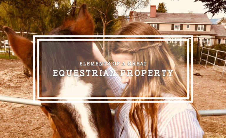 Elements of a Great Equestrian Property