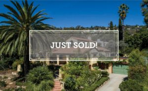 Just Sold San Diego Rd