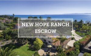 New Hope Ranch Escrow Creciente