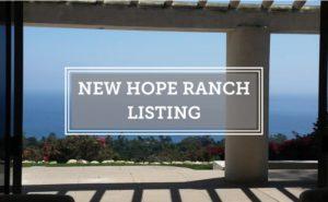 New Hope Ranch Listing Cuervo
