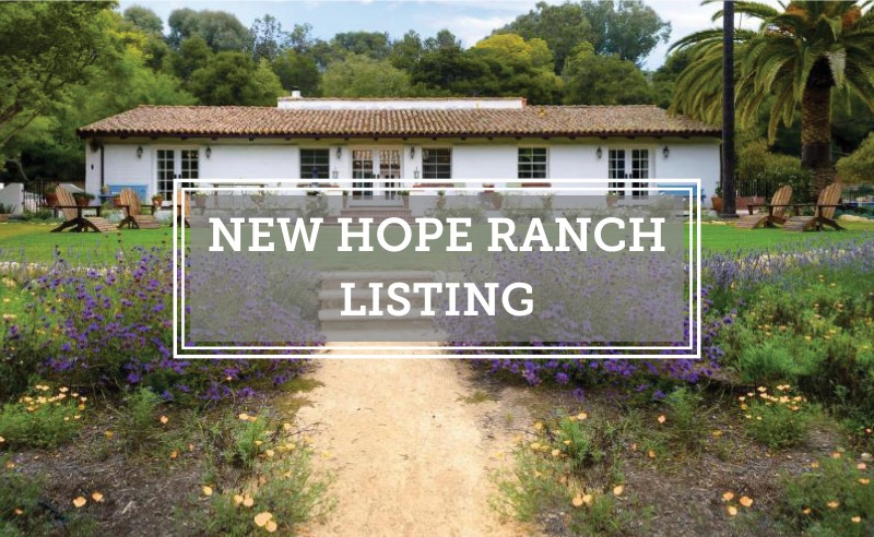 New Hope Ranch Listing Mariposa