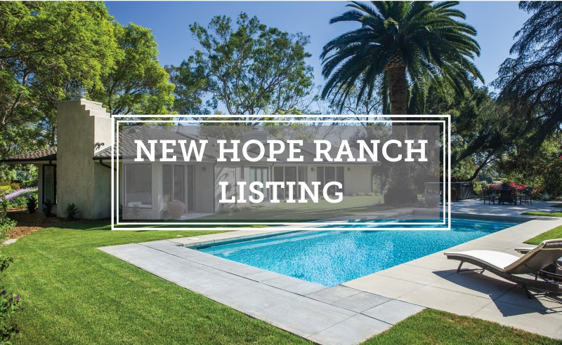 New Hope Ranch Listing Tranquila