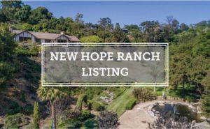 New Hope Ranch Listing Via Vistosa