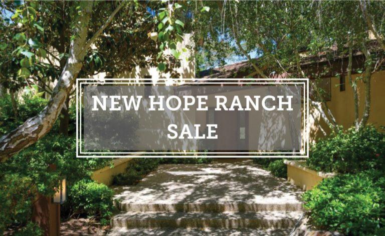 New Hope Ranch Closed Escrow 4606 Via Cayente