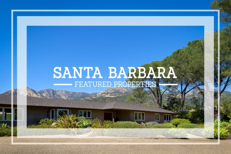 Featured Santa Barbara Properties