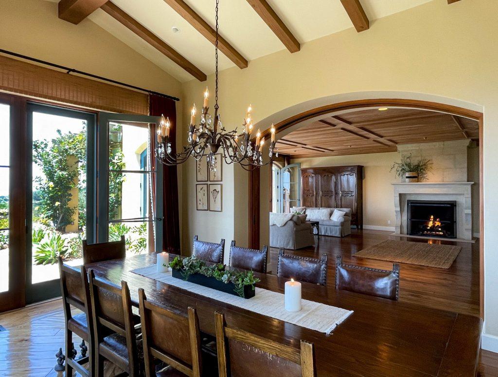 Formal Dining Room to Living Room