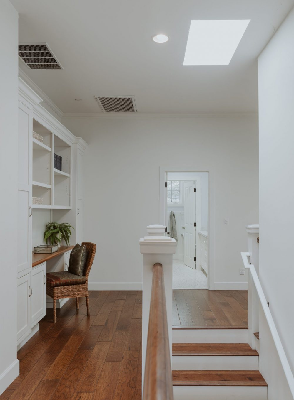 Office Nook & Stairs