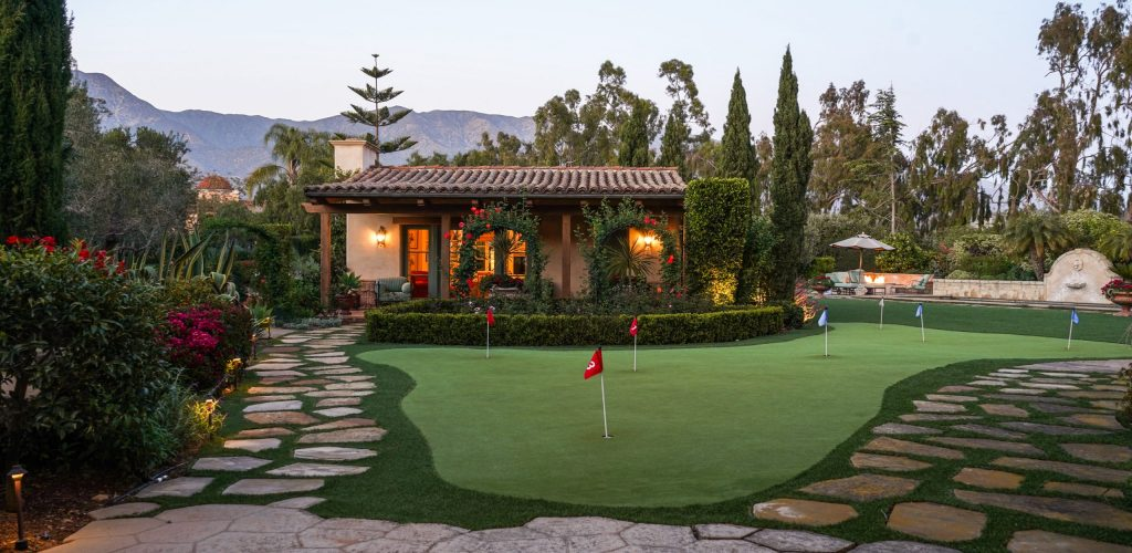 Putting Green and GH